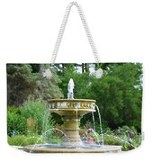 Sarah Lee Baker Perennial Garden 6 Weekender Tote Bag