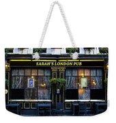 Sarah's London Pub Weekender Tote Bag