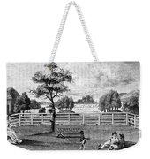 Saratoga, New York, 1794 Weekender Tote Bag