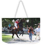 Saratoga Race Track Paddock Weekender Tote Bag