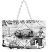 Sardine Fishery, 1880 Weekender Tote Bag