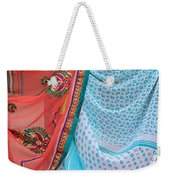 Saree In The Market Weekender Tote Bag