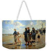 Sargent's En Route La Peche -- Setting Out To Fish Weekender Tote Bag