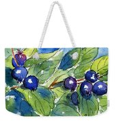 Saskatoon Berries Weekender Tote Bag