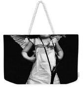 Sassy Cupid Bw Weekender Tote Bag
