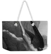 Satan Plunges Into The River Styx Weekender Tote Bag