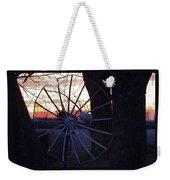 Satellite Sunset Weekender Tote Bag