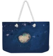 Satellite View Of Rocas Atoll In South Weekender Tote Bag