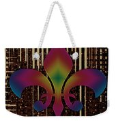 Satin Lily Symbol Digital Painting Weekender Tote Bag