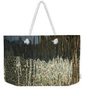 Satin Silk And Moire Abstract - Vertical Weekender Tote Bag