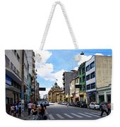 Saturday Afternoon In Sao Paulo Weekender Tote Bag