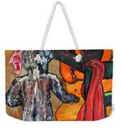 Saturday Night  Bath Weekender Tote Bag