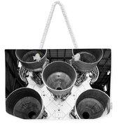 Saturn Five Rocket Work B Weekender Tote Bag