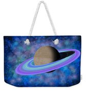 Saturn Journey Weekender Tote Bag