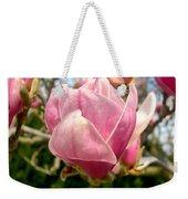 Saucer Magnolia Bloom Weekender Tote Bag