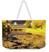 Saucks Bridge - Pond Weekender Tote Bag
