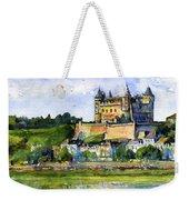Saumur Chateau France Weekender Tote Bag