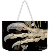 Saurophaganax Dinosaur Claw Fossil Weekender Tote Bag