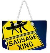 Sausage Crossing Weekender Tote Bag