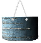 Sausalito Bay California. Stormy. Weekender Tote Bag