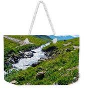 Savage River From Savage River Trail In Denali Np-ak    Weekender Tote Bag