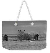 Savageton Cemetery  Wyoming Weekender Tote Bag
