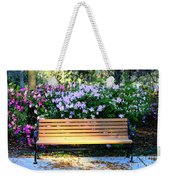 Savannah Bench Weekender Tote Bag by Carol Groenen