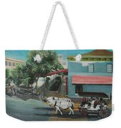 Savannah City Market Weekender Tote Bag