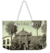Old Savannah Cotton Exchange Weekender Tote Bag