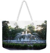 Savannah Georgia Forsyth Park Fountain Weekender Tote Bag
