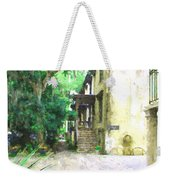 Savannah Georgia Outside The Antique Dealer Weekender Tote Bag
