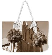 Savannah Sepia - Methodist Church Weekender Tote Bag