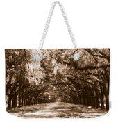 Savannah Sepia - The Old South Weekender Tote Bag