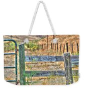 Save Our Farms Weekender Tote Bag