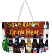 Save Water Drink Beer Weekender Tote Bag