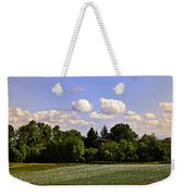 Savie Island Flower Garden Weekender Tote Bag