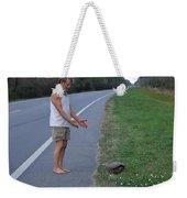 Saving The Turtle Weekender Tote Bag