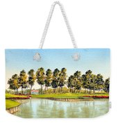 Sawgrass Tpc Golf Course 17th Hole Weekender Tote Bag