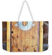 Sawmill Door Weekender Tote Bag