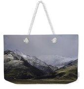 Sawtooth Mist Weekender Tote Bag