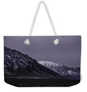 Sawtooth Mountain At Night Weekender Tote Bag