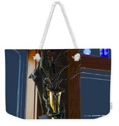 Sax At The Full Moon Cafe Weekender Tote Bag