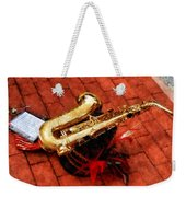 Saxophone Before The Parade Weekender Tote Bag