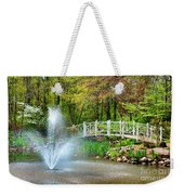 Sayen Garden Impression Weekender Tote Bag