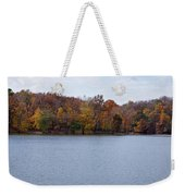 Scales Lake In Autumn Weekender Tote Bag by Sandy Keeton