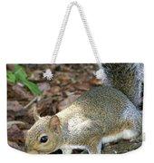 Scampering Squirrel Weekender Tote Bag