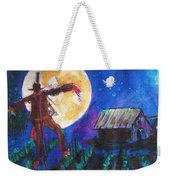 Scarecrow Dancing With The Moon Weekender Tote Bag