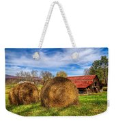 Scarecrow's Dream Weekender Tote Bag by Debra and Dave Vanderlaan