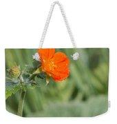 Scarlet Avens Orange Wild Flower Weekender Tote Bag