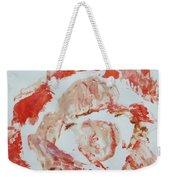 Scarlet Beauty Weekender Tote Bag